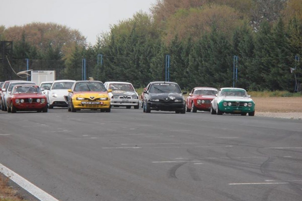 7ο διεθνές τριήμερο trackday alfisti.gr @ Serres Racing Circuit 4-6 Απριλίου 2014