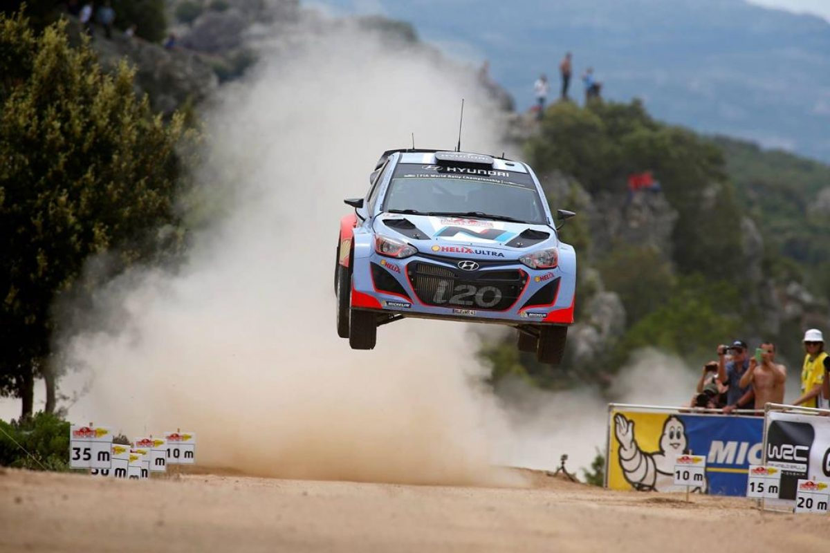 WRC: Rally Italia Sardegna 2014 Leg2 | video