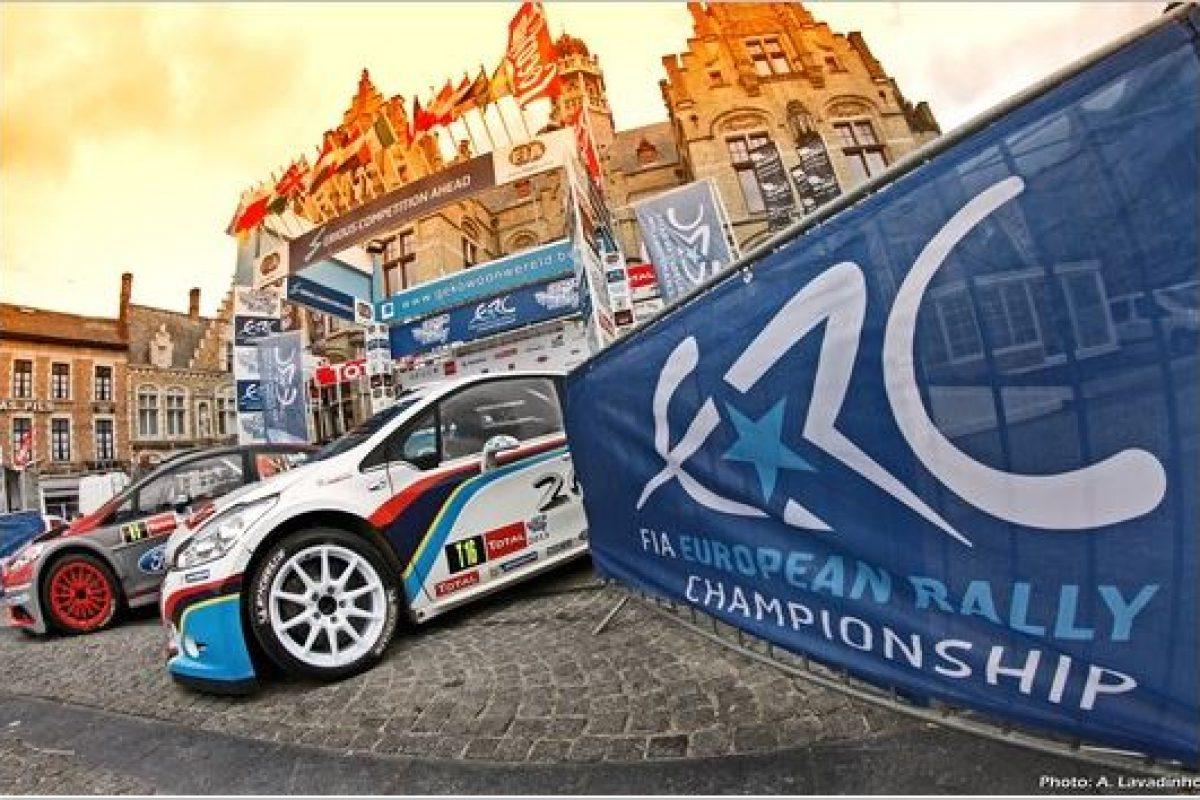 FIA ERC: GEKO Ypres Rally 2014