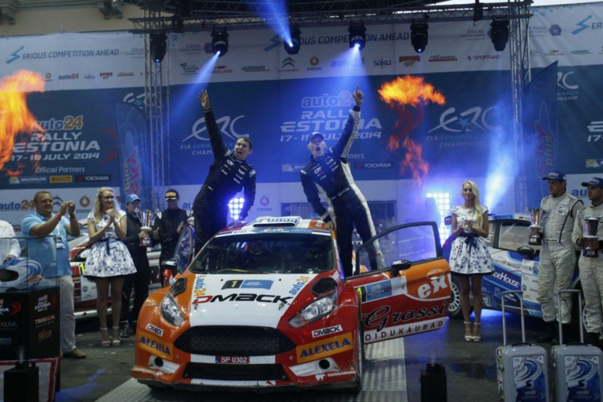 ERC: Τέλος και για το Auto 24 Rally Estonia 2014 |αποτελέσματα|video