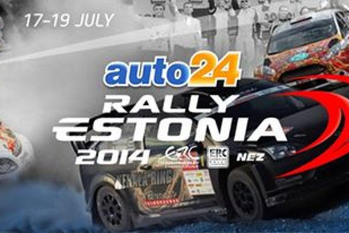 ERC: Auto 24 Rally Estonia 2014 |photos|videos|results