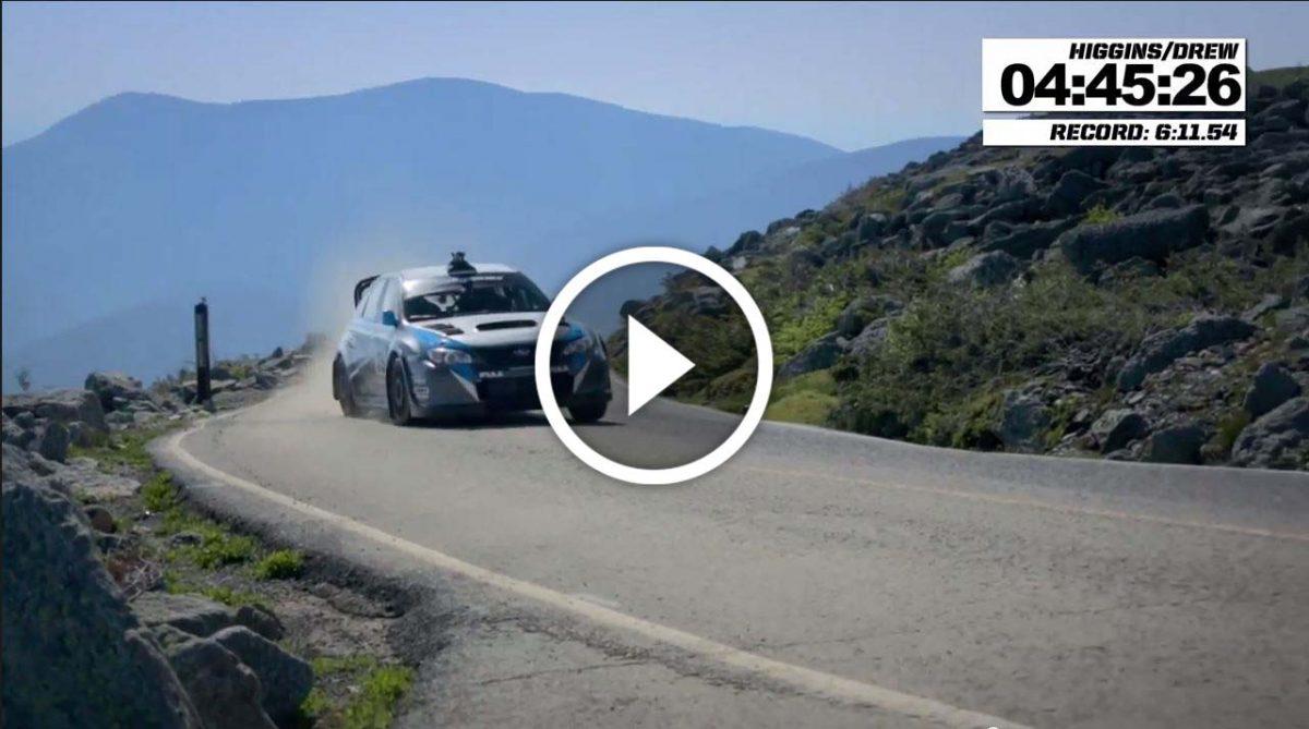 """Happytime: Νέο ρεκόρ για την Subaru με οδηγό τον David Higgins στην διάσημη Ανάβαση """"Mount Washington Auto Road"""""""