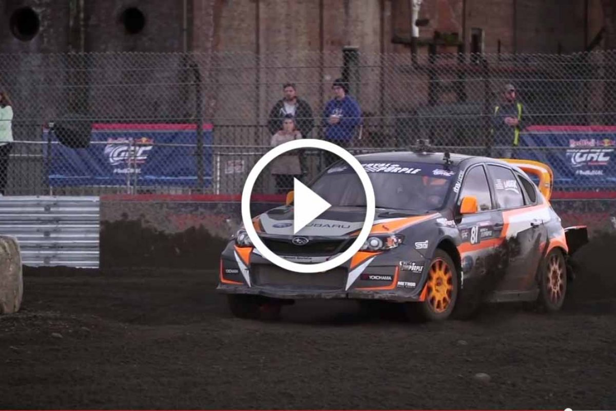 Subaru Rally Team USA | Red Bull Global Rallycross |video