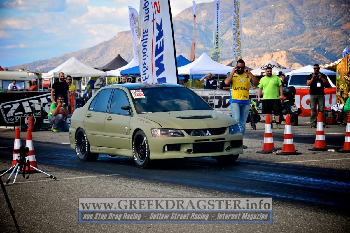 Dragster: To ελληνικό Mitsubishi Evo των 2145hp!!!