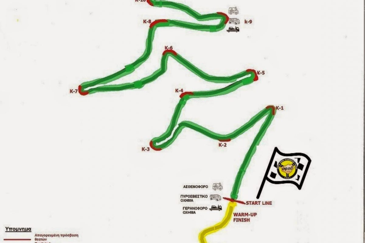 ΟΦΑΔ: 3η Ανάβαση Κορυλόβου Δράμας