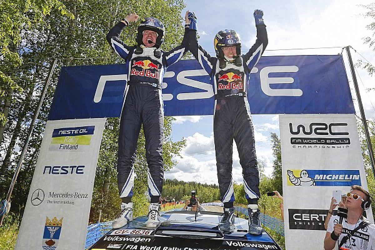 WRC: Νικητής στο σπίτι του ο Latvala
