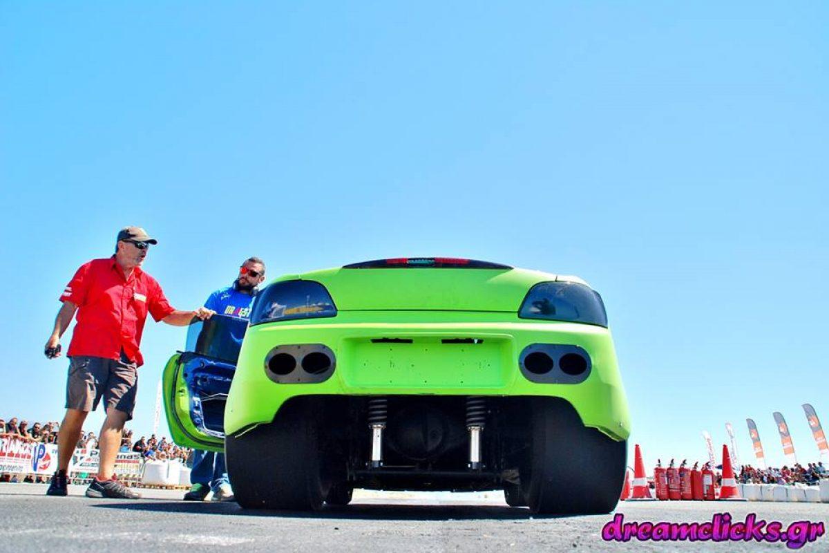 Με επιτυχία ολοκληρώθηκε ο  4ος πρωταθληματικός αγώνας dragster στην Κρήτη…