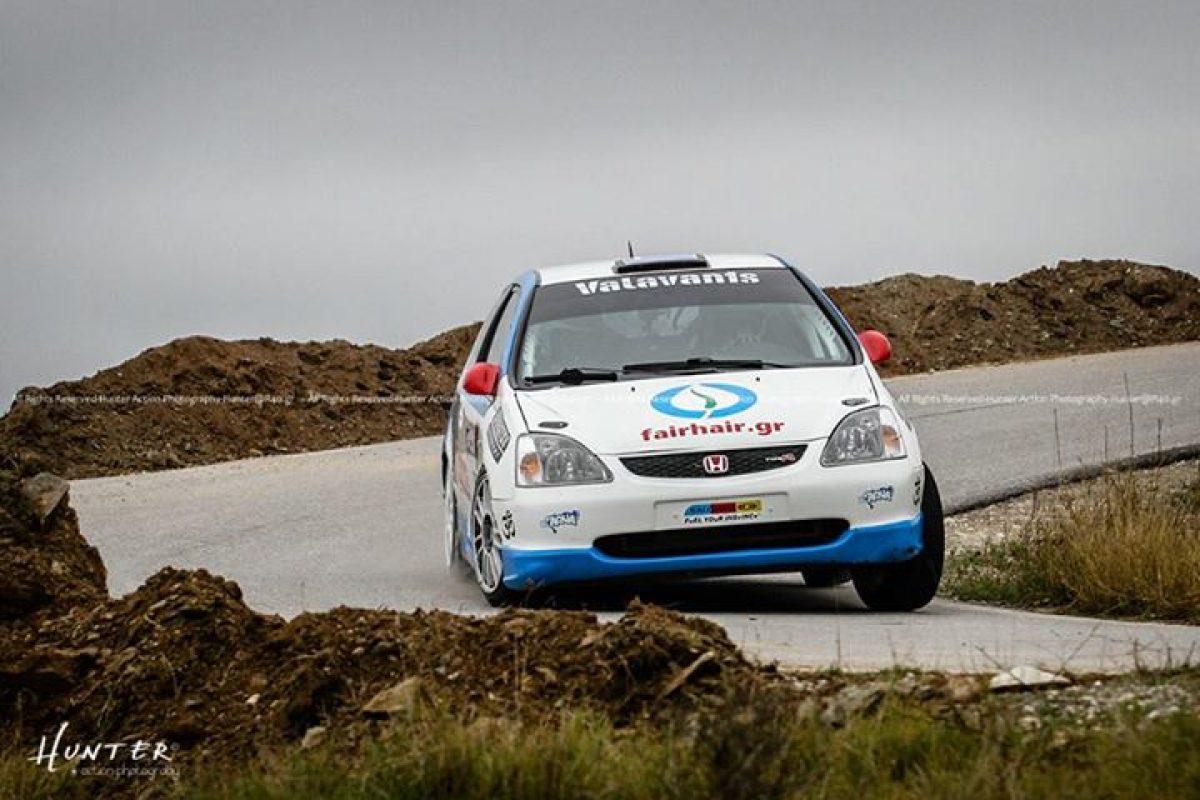 Αποτελέσματα από το  2ο Rally Sprint Βελβεντού