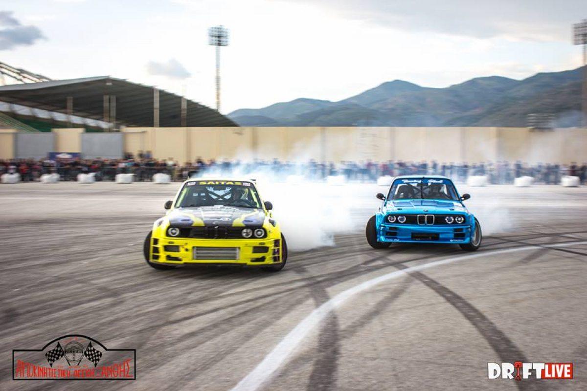 Αγώνας Διπλών Περασμάτων Drift Ξάνθης 2016