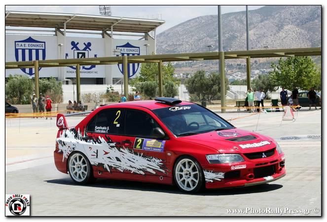 kamitsakis 1o athens rally sprint