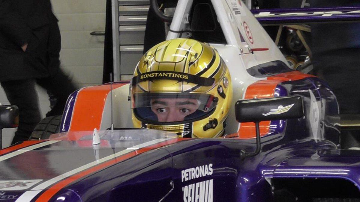 Ο Konstantinos στην Ιταλία για Formula 4 με υποστήριξη της Ομοσπονδίας της Βραζιλίας