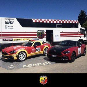 Fiat 124 rally abarth team 2