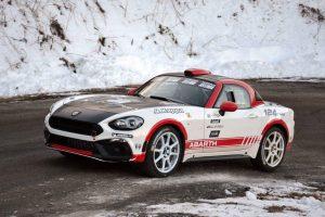 Fiat 124 rally abarth test 3