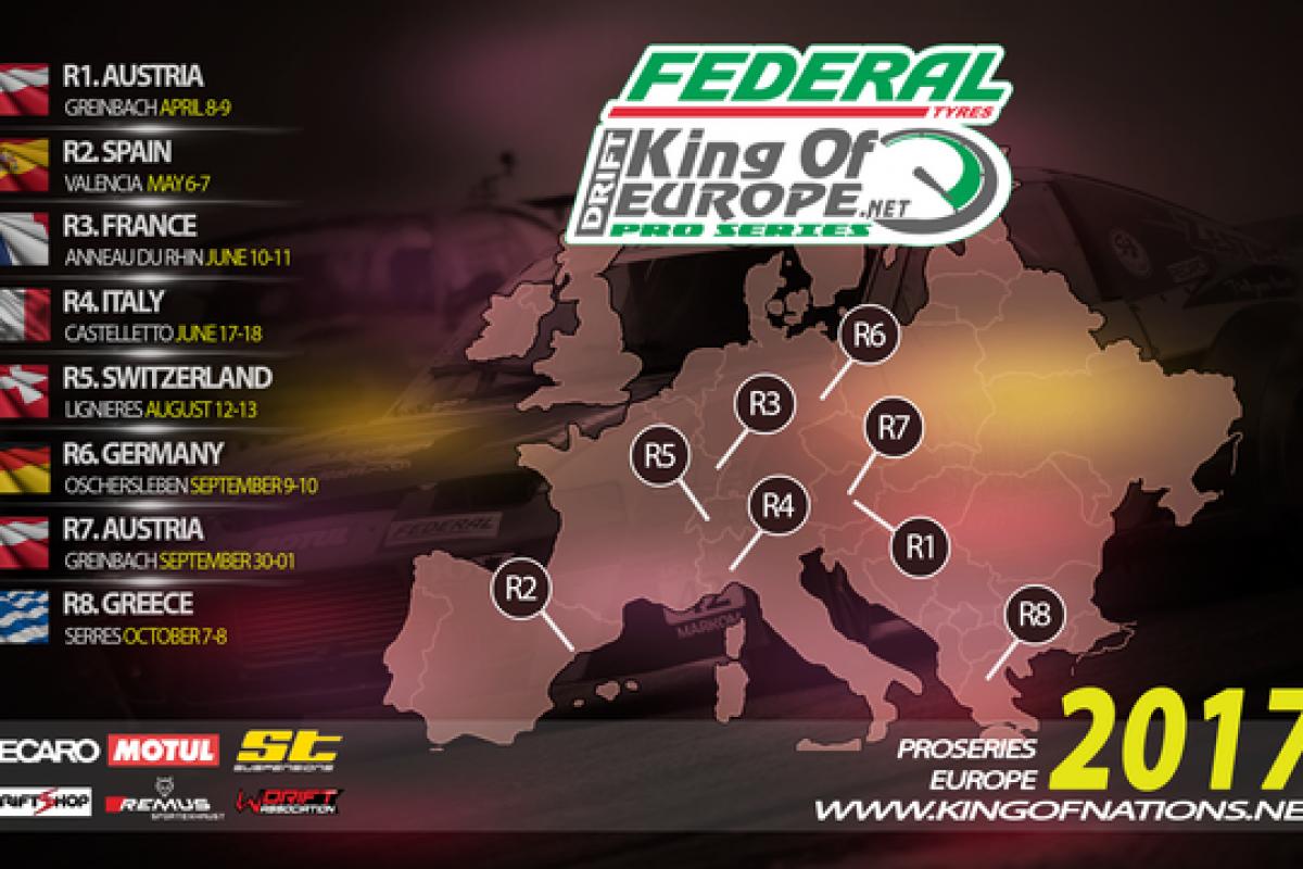 Οι Τελικοί Αγώνες Drift «King Of Europe» & «King Of Nations» στις Σέρρες!