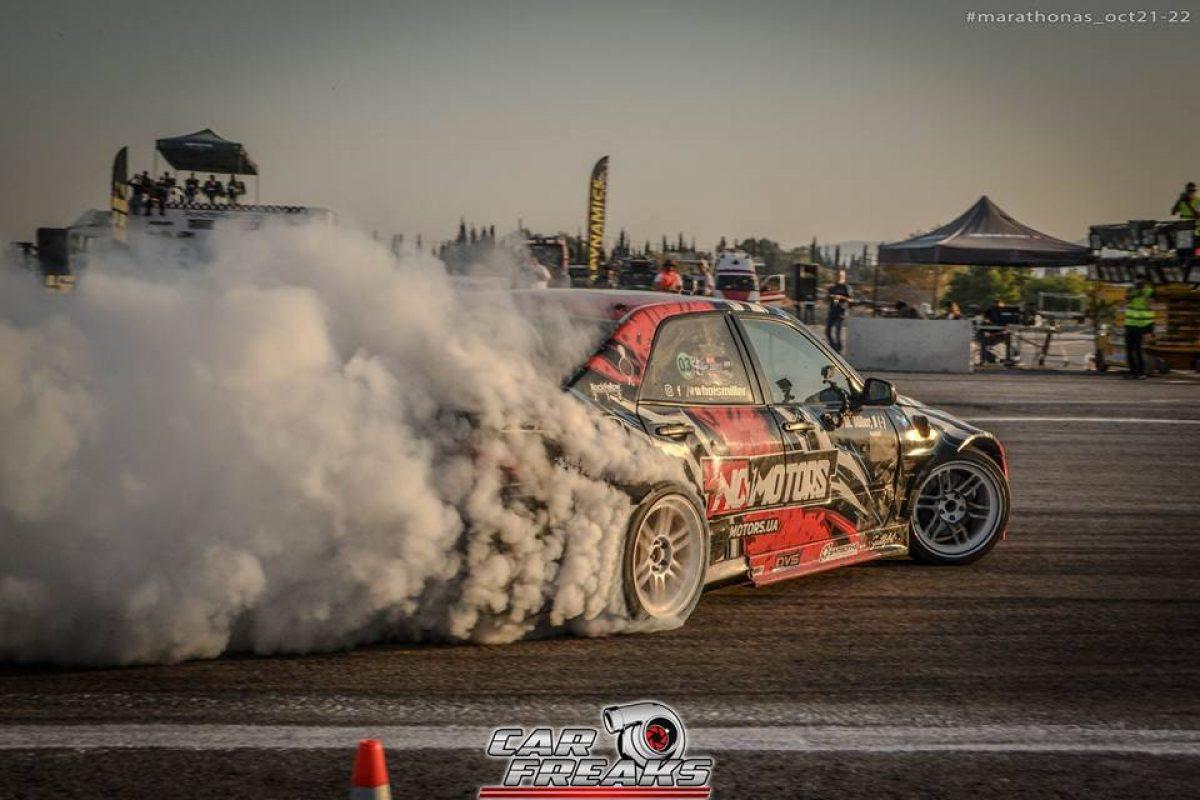 Drift & Θέαμα στον Μαραθώνα: Mediterranean Drift Challenge & Πανελήνιο Πρωτάθλημα Drift