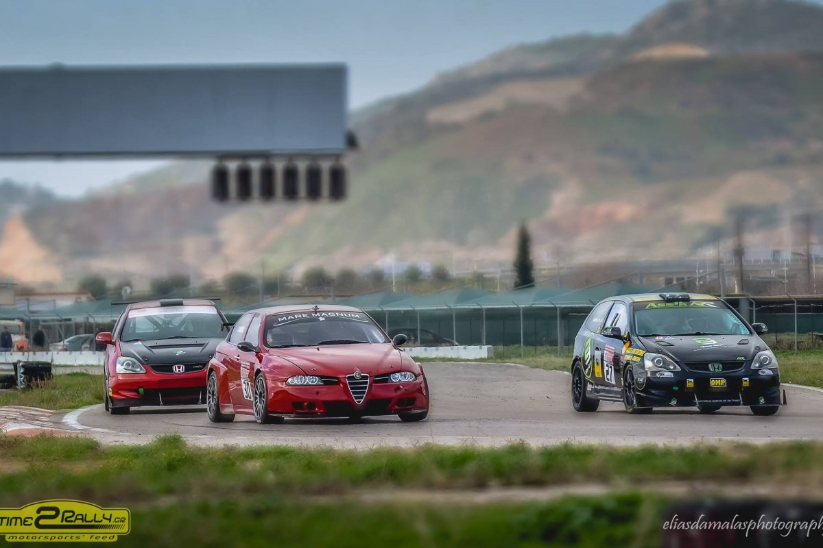 Συμμετοχές: 2ος Αγώνας Πρ. Ταχύτητας 2018 – Aυτοκινητοδρόμιο Μεγάρων 17-18 Νοεμβρίου