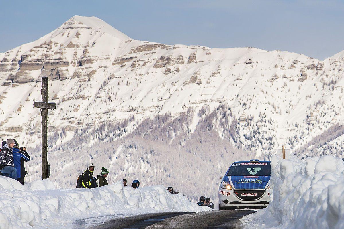 Ο Νίκος Παυλίδης στο 86ο Rallye Monte-Carlo