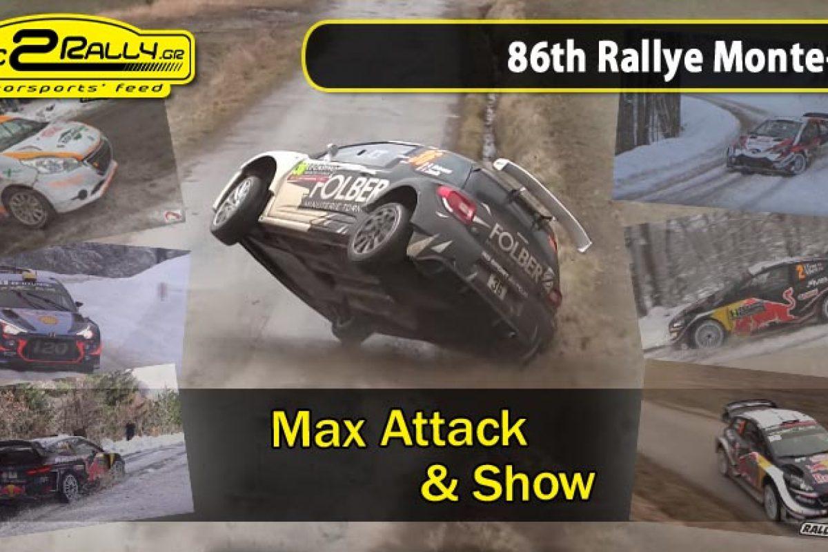 86th Rallye Monte-Carlo: Max Attack & Show