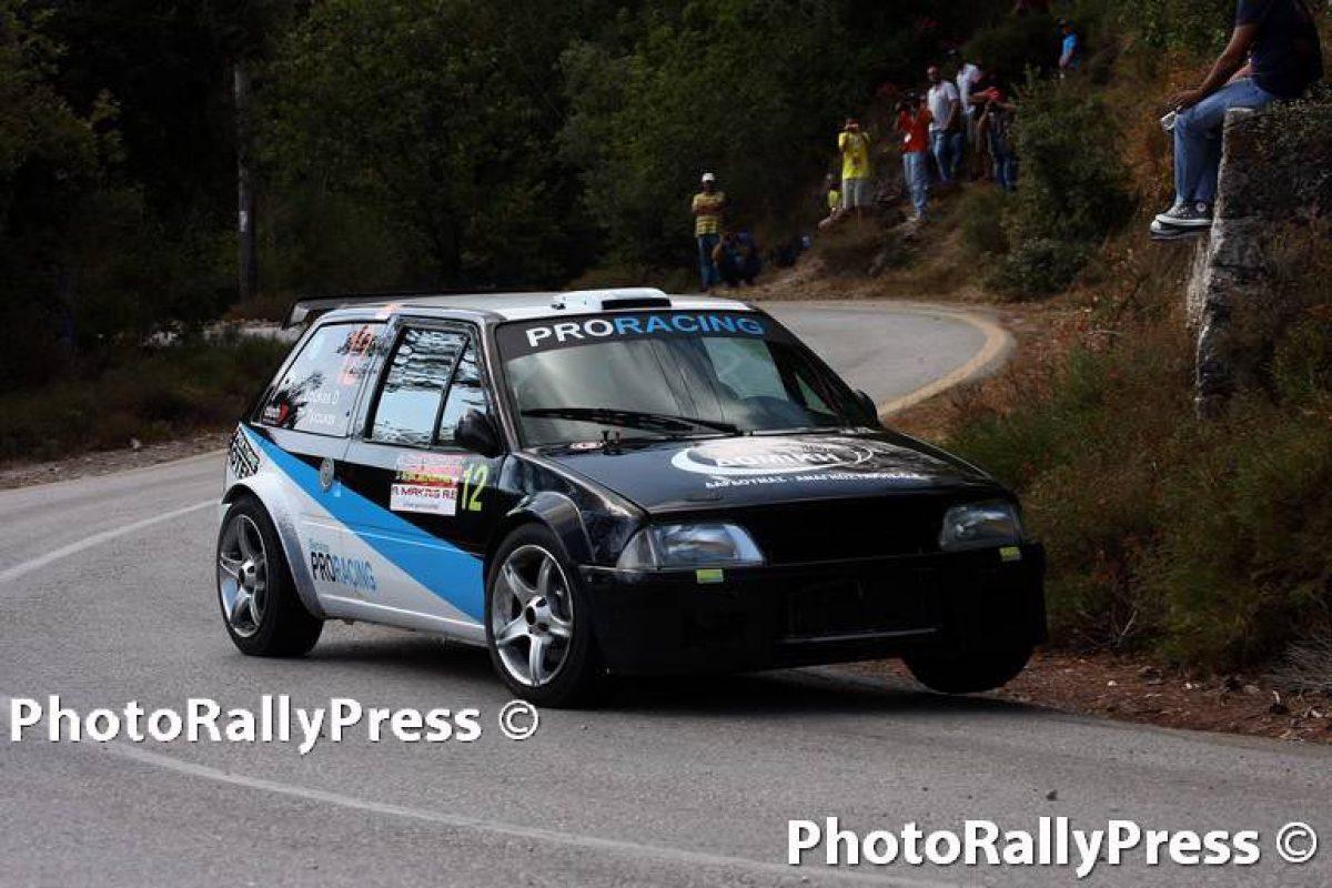 5ο Athens rally sprint Άγιος Μερκούριος