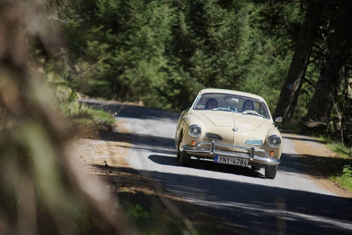 Πανελλήνιο Πρωτάθλημα Regularity Ιστορικών Αυτοκινήτων | Το Regularity ξεκινά από τον Διόνυσο