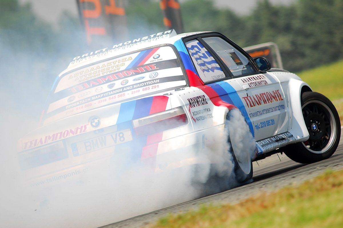 Πανελλήνιο Πρωτάθλημα Drift: «Φωτιά» στις Σέρρες!