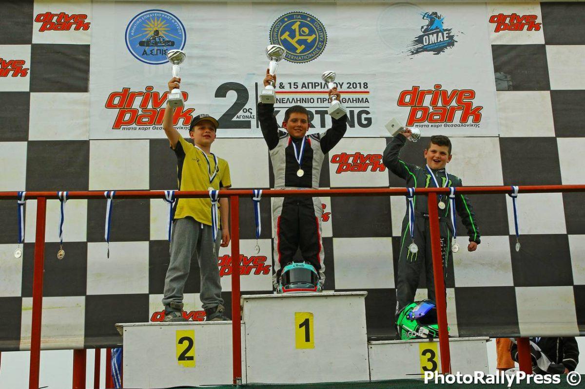 Πανελλήνιο Πρωτάθλημα Karting 2018 | Καρό σημαία στο Ρύσιο!