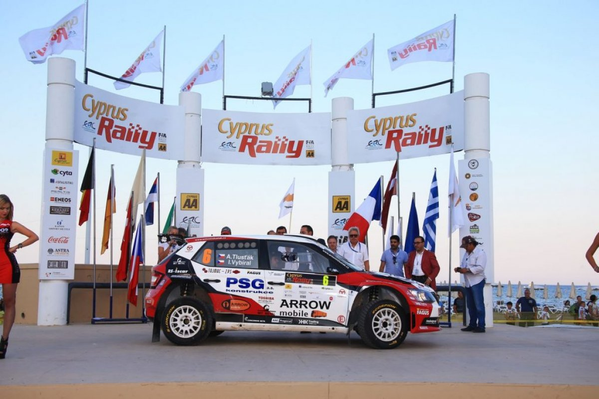ERC: Rally Cyprus 2018 στην Λάρνακα 15 έως 17 Ιουνίου