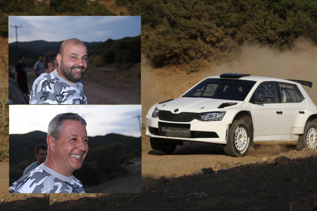 Δοκιμές EKO Acropolis Rally: Θέμης Χαλκιάς και Λεωνίδας Μαχαίρας στο ERC