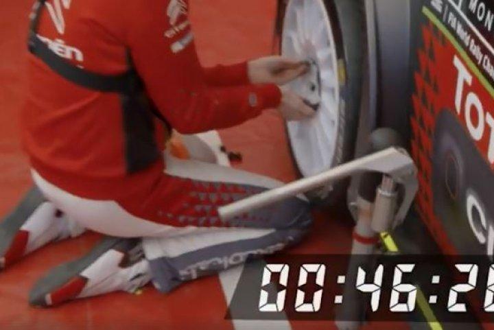 Αλλάξετε έναν τροχό όσο το δυνατόν γρηγορότερα!