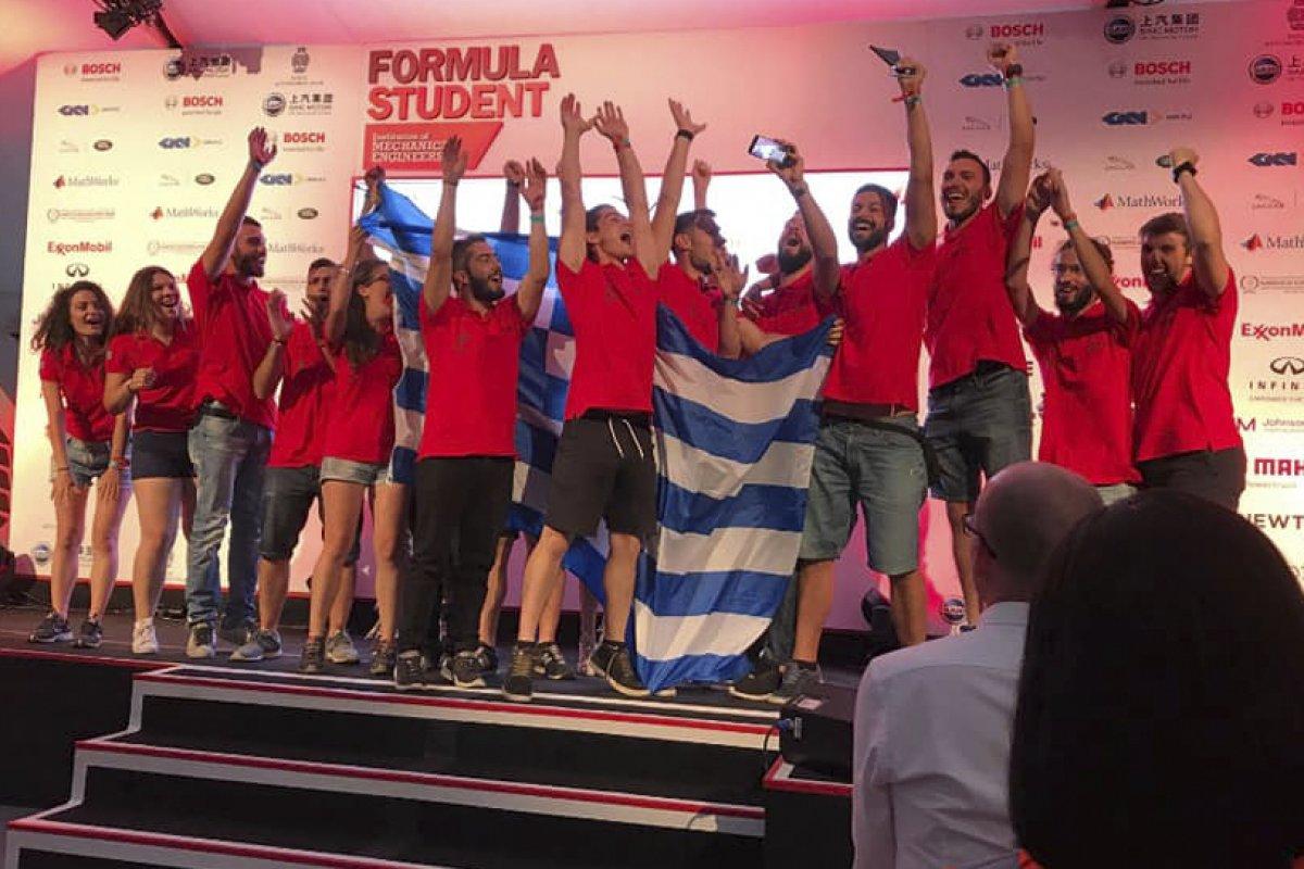 H Centaurus Racing Team Δεύτερη Στον Κόσμο Στη Formula Student!