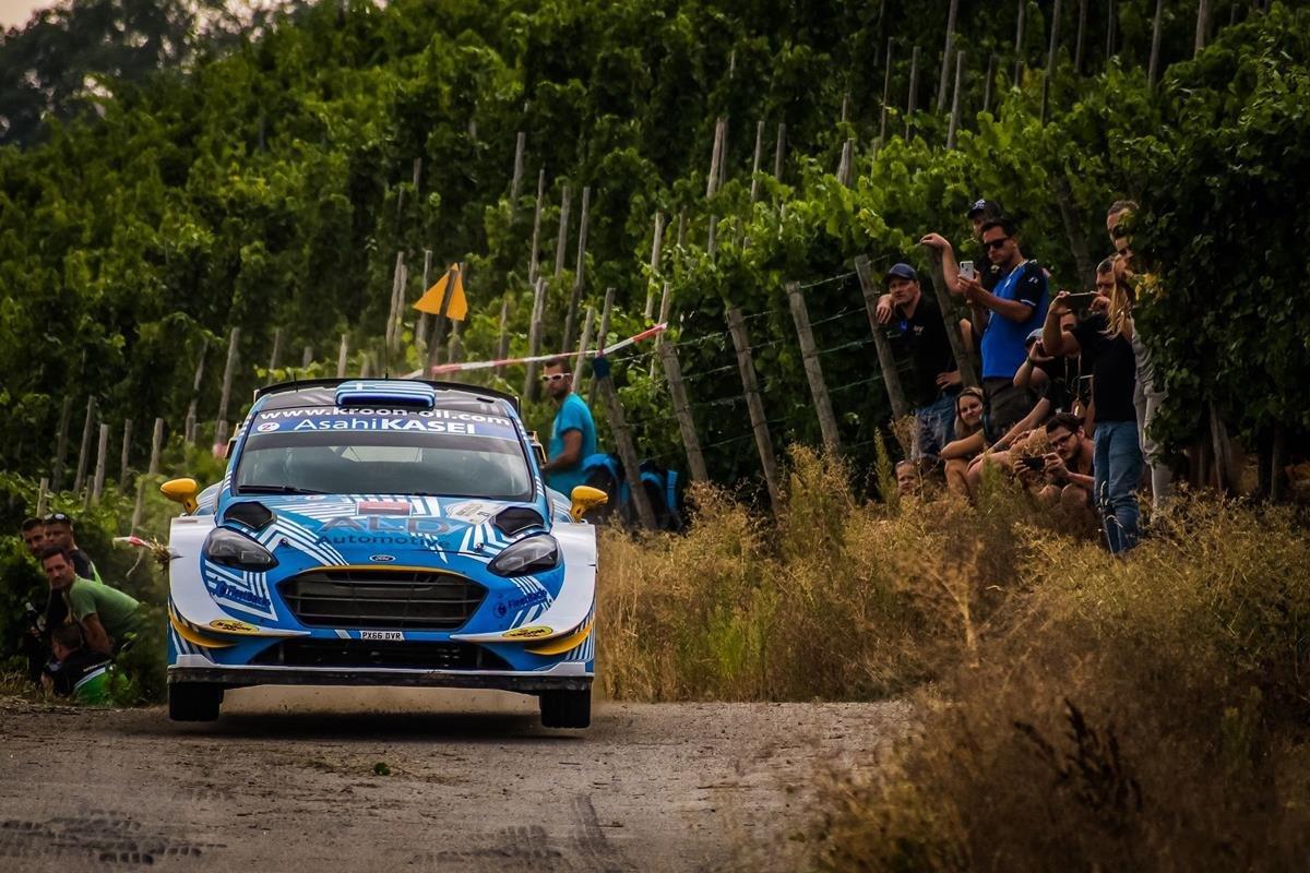 WRC Germany 2018: Στον έβδομο ουρανό ο Ιορδάνης Σερδερίδης!