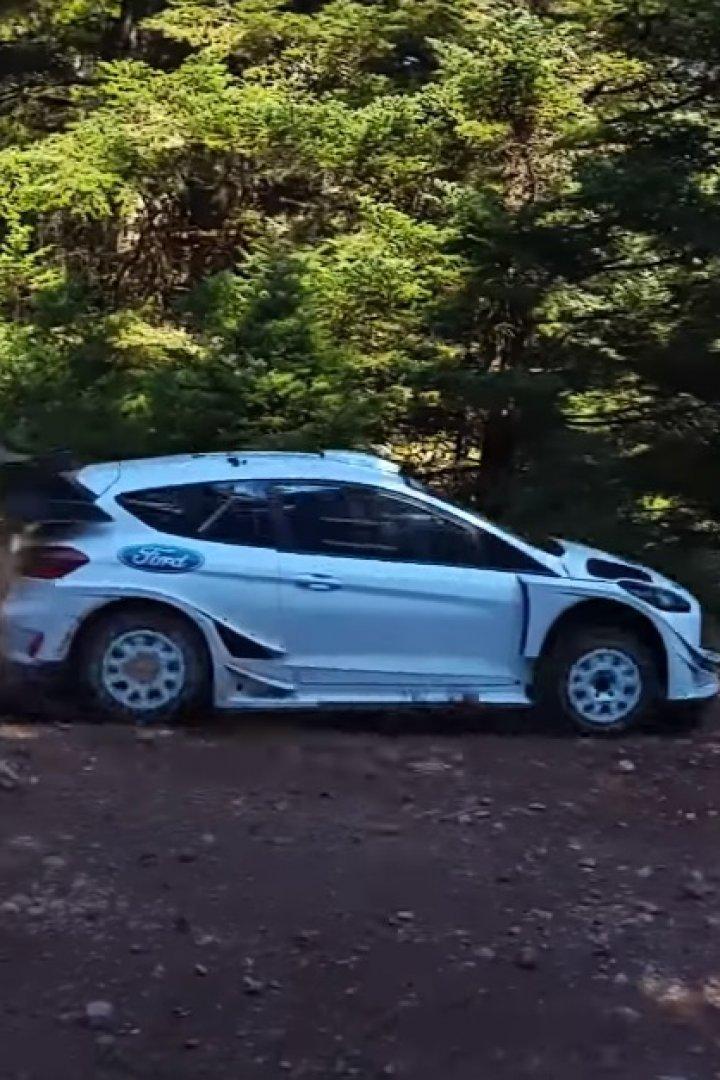 Sebastien Ogier | M-Sport Ford Fiesta WRC Test in Greece [video]