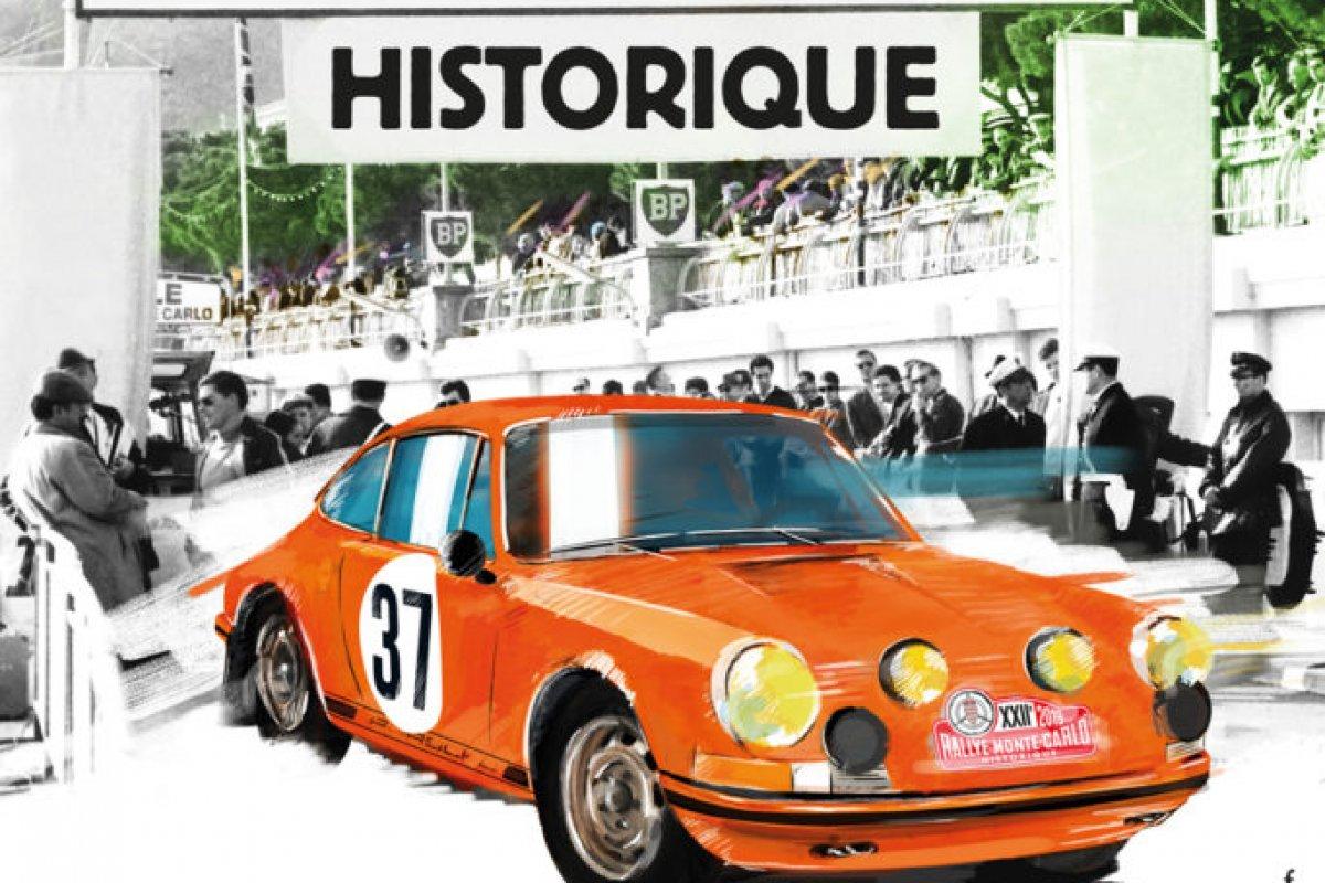 Rallye Monte Carlo Historique Athens Start 2019