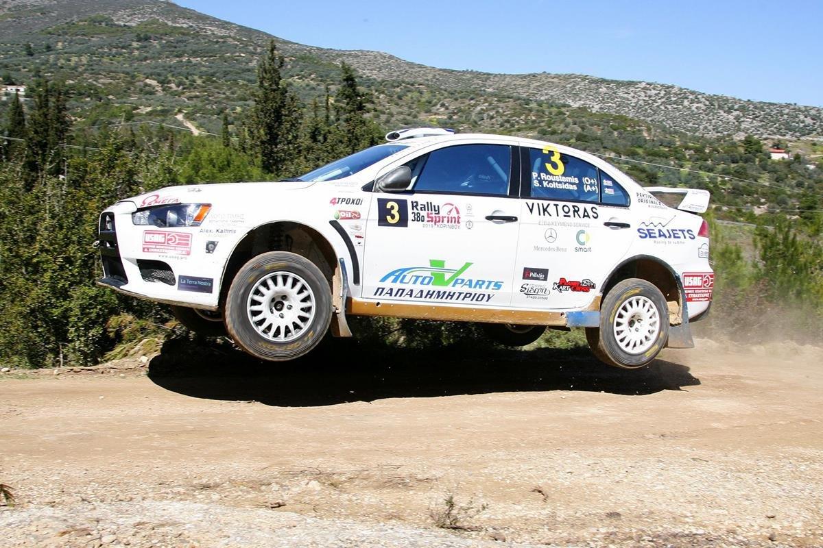 Με μάχες που κρίθηκαν στο νήμα το 38ο Rally Sprint Κορίνθου!