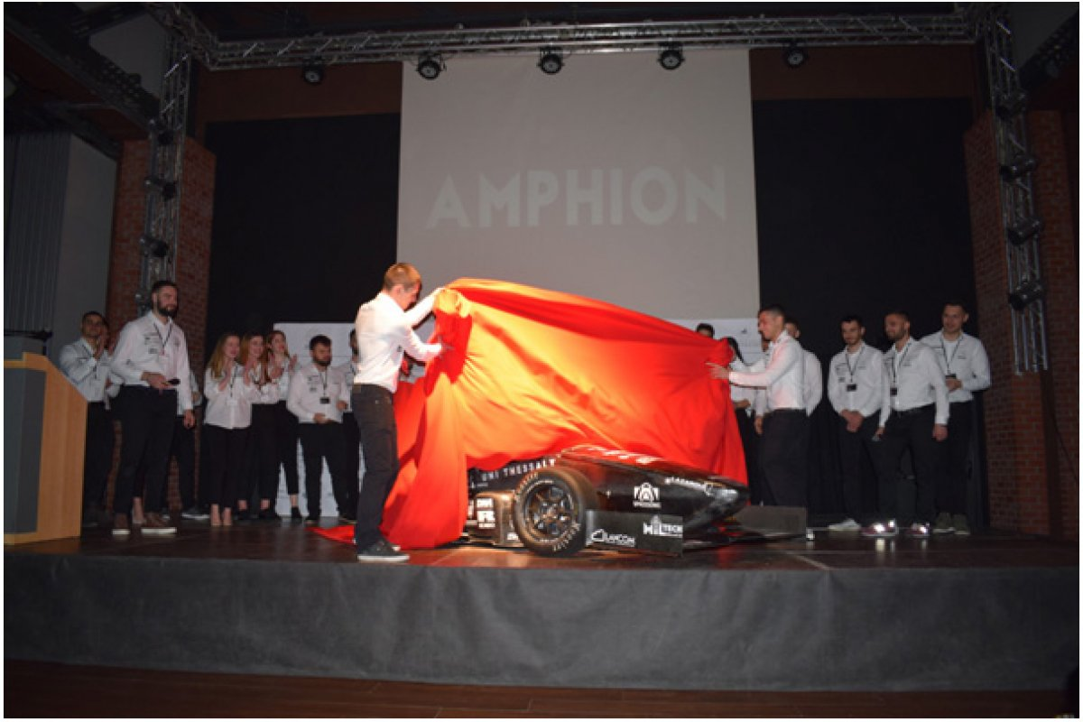 Centaurus Racing Team: Αποκάλυψη Του «Αμφίωνα»
